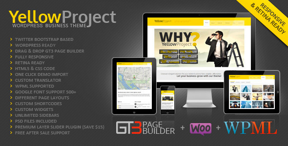 yellowproject - YellowProject Multipurpose Retina WP Theme
