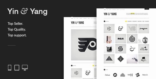 yin - Yin & Yang: Modern, Responsive, Clean & Creative WordPress Portfolio Theme, powered by AJAX