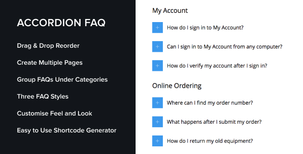 accordion4 - Accordion FAQ WordPress Plugin