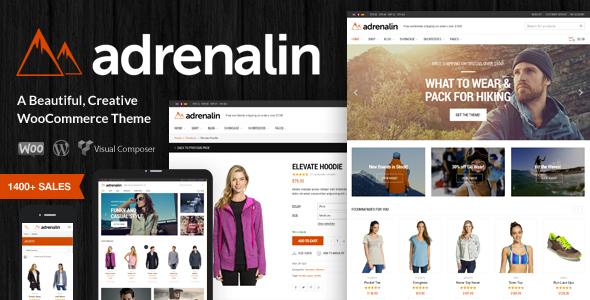 adrenalin - Adrenalin - Multi-Purpose WooCommerce Theme