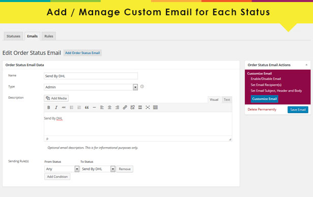 advanced6 - Advanced WooCommerce Order Status & Action Manager + Colorize filtering on Order List