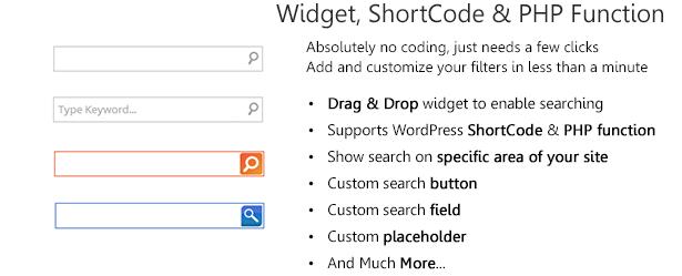 ajax3 - WordPress AJAX Search & AutoSuggest Plugin