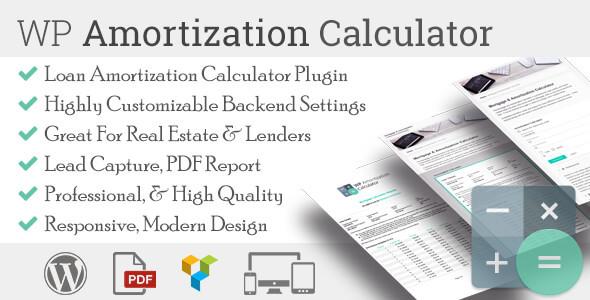amortization - WP Amortization Calculator