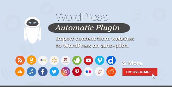 automatic - Wordpress Automatic Plugin