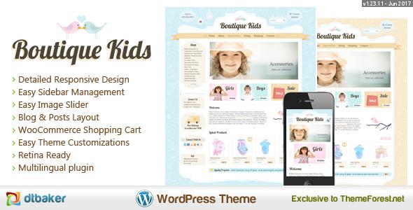 boutique - Boutique Kids Creative WordPress Theme