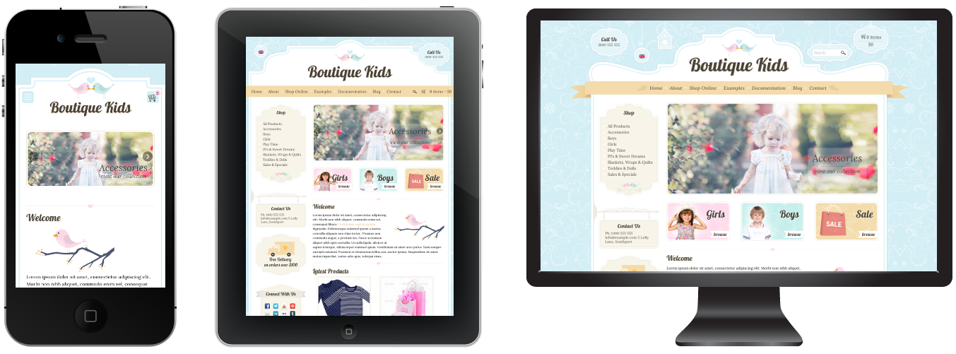 boutique6 - Boutique Kids Creative WordPress Theme