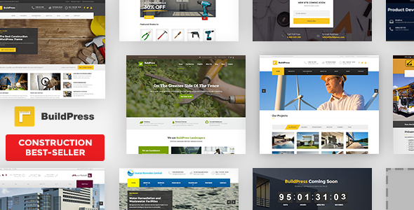 buildpress - BuildPress - Multi-purpose Construction and Landscape WP Theme