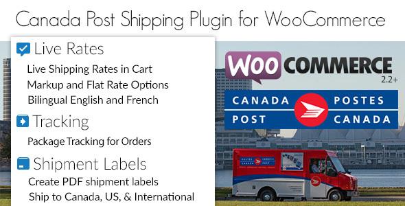 canada - Canada Post Woocommerce Shipping Plugin