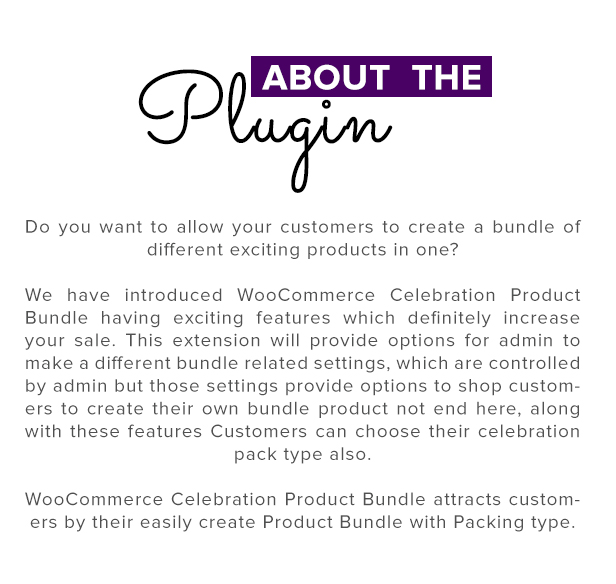 celebration2 - WooCommerce Product Bundle with Gift Pack
