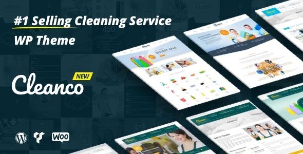 cleanco - Cleanco - Cleaning Service Company WordPress Theme