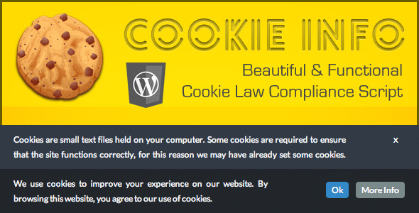 cookie - Cookie Info WP - Cookie Law Compliance Script