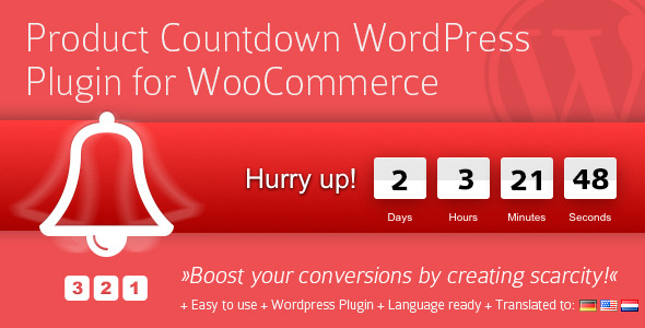 countdown - Product Countdown WordPress Plugin