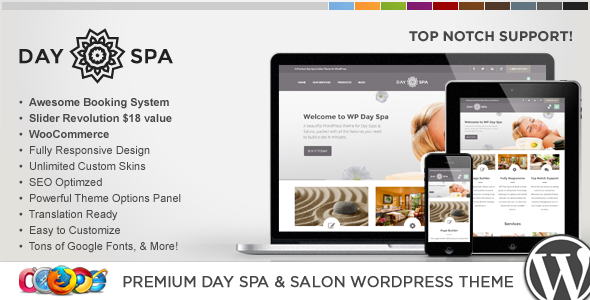 day - WP Day Spa & Salon WordPress Theme