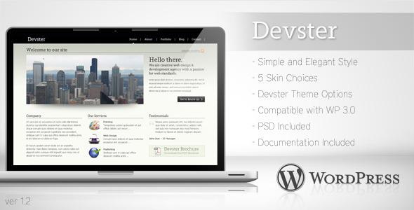devster - Devster - Simple Business Wordpress Theme