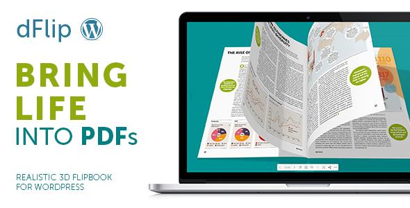 dflip - dFlip PDF FlipBook WordPress Plugin