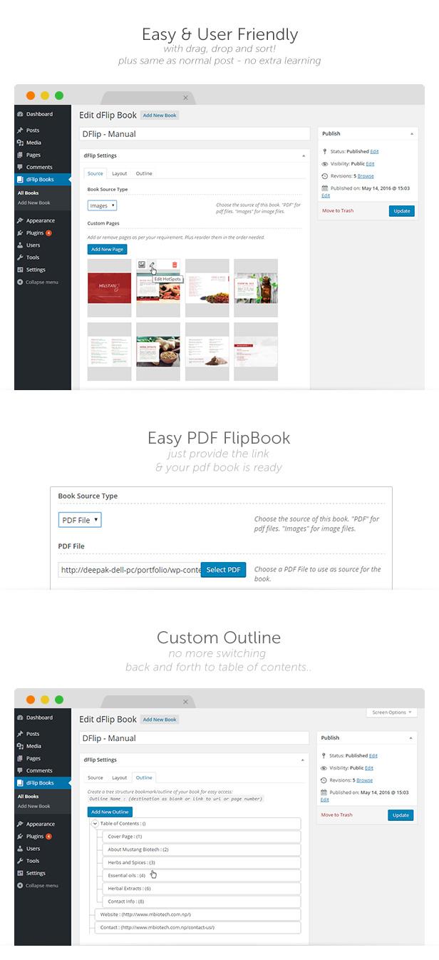 dflip6 - dFlip PDF FlipBook WordPress Plugin