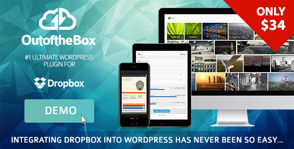 dropbox - Out-of-the-Box | Dropbox plugin for WordPress