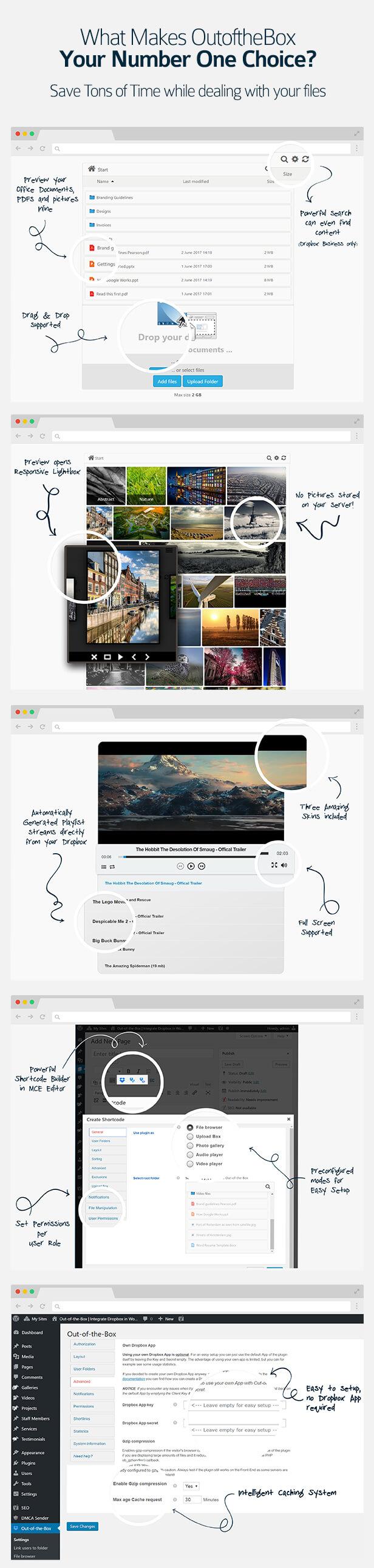 dropbox6 - Out-of-the-Box | Dropbox plugin for WordPress