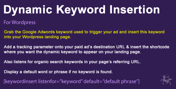 dynamic 1 - Wordpress Dynamic Keyword Insertion
