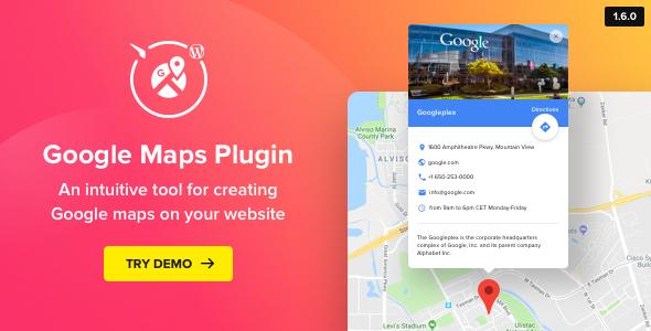 elfsight - Google Maps - WordPress Map Plugin