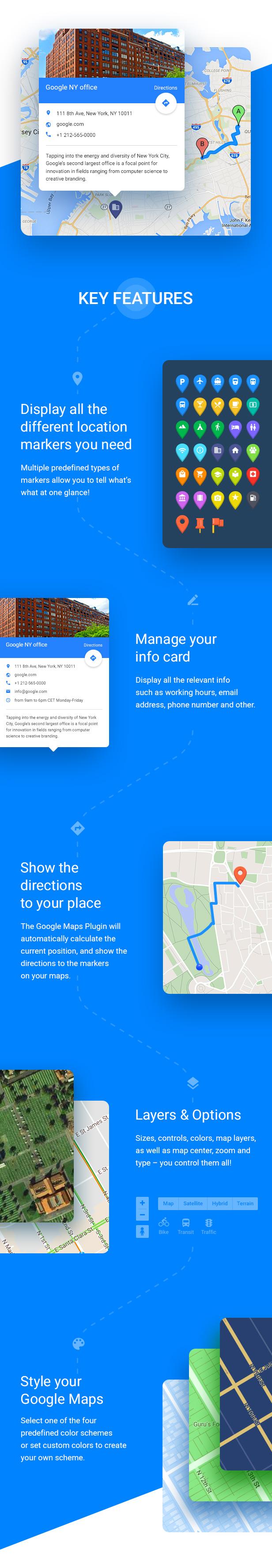 elfsight4 - Google Maps - WordPress Map Plugin