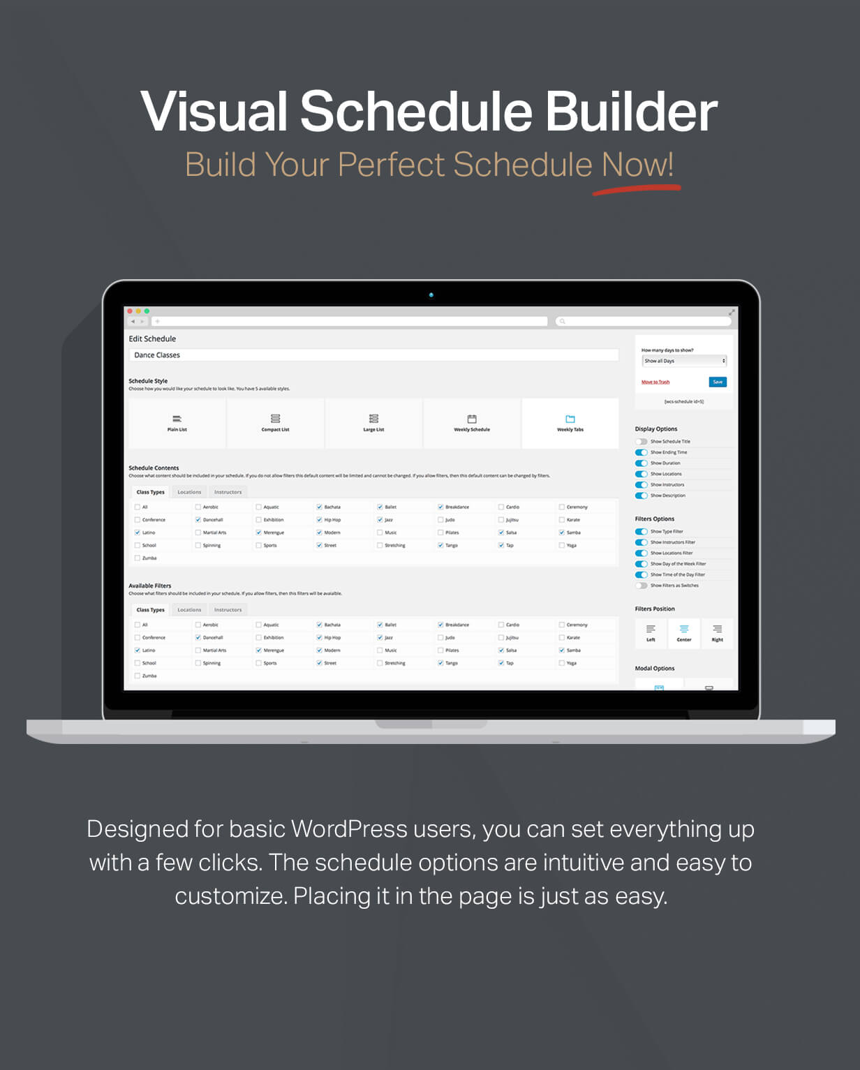 events9 - Events Schedule - WordPress Events Calendar Plugin