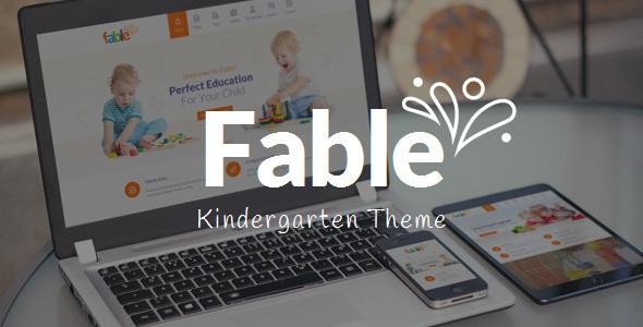 fable - Fable - Children Kindergarten WordPress Theme