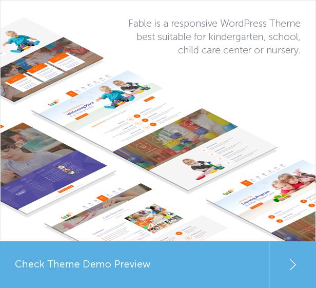 fable3 - Fable - Children Kindergarten WordPress Theme