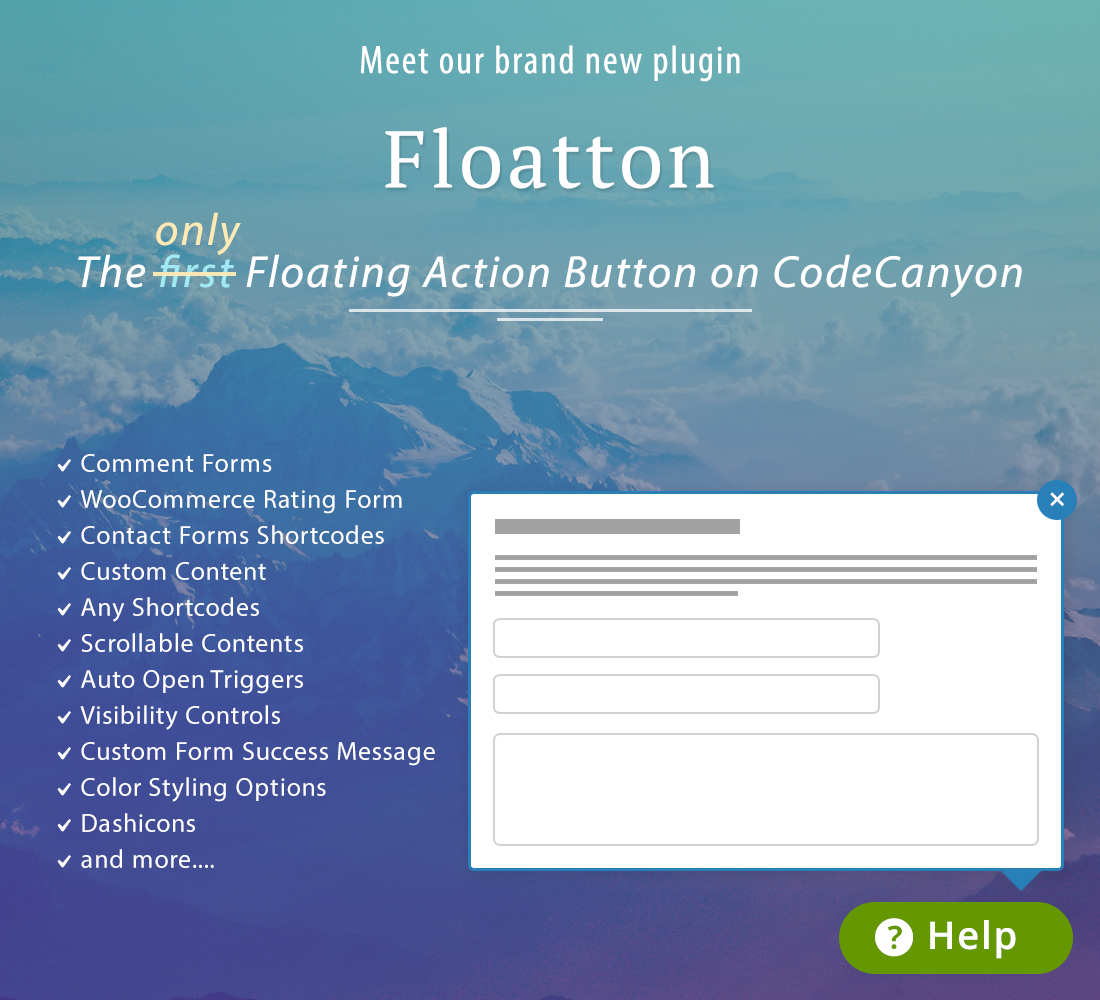 floatton2 - Floatton | WordPress Floating Action Button with Pop-up Contents for Forms or any Custom Contents