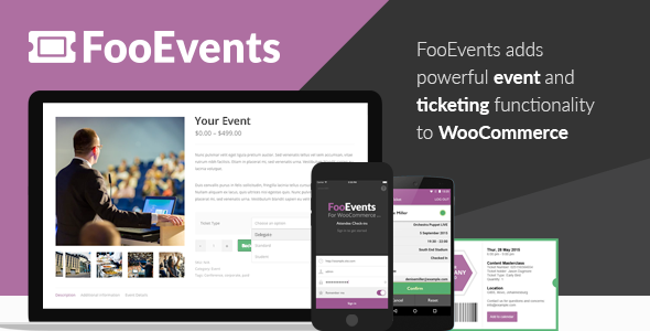 fooevents - FooEvents for WooCommerce
