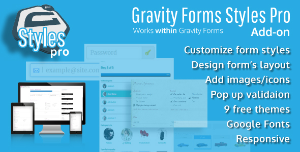 forms - Gravity Forms Styles Pro Add-on