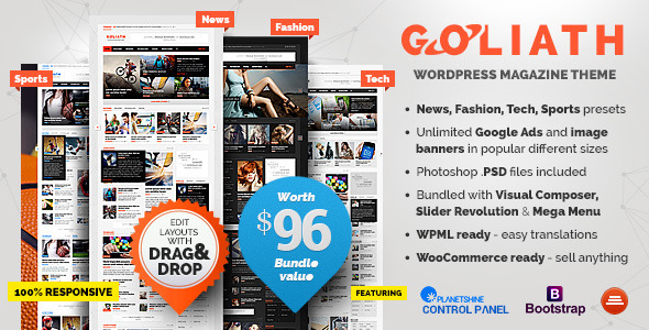 goliath - GOLIATH - Ads Optimized News & Reviews Magazine