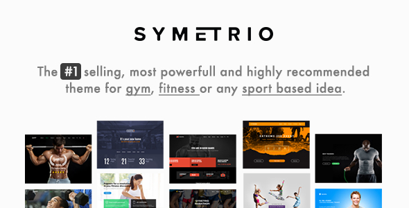gym - Gym & Fitness WordPress Theme - Symetrio