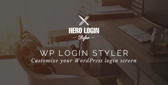 hero 2 - Hero Login Styler - WP Login Screen Customizer