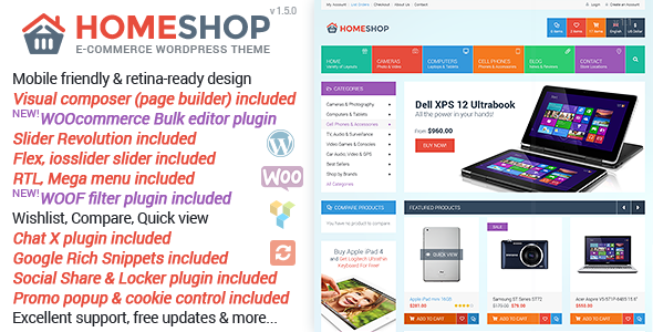 home - Home Shop - WooCommerce Theme