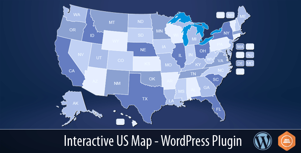 interactive - Interactive US Map - WordPress Plugin