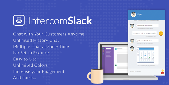 intercom - WP Intercom - Slack for WordPress