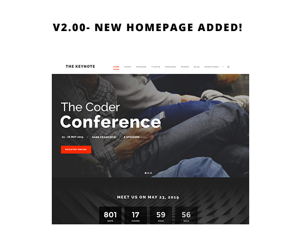 keynote2 - The Keynote - Conference / Event / Meeting WordPress Theme