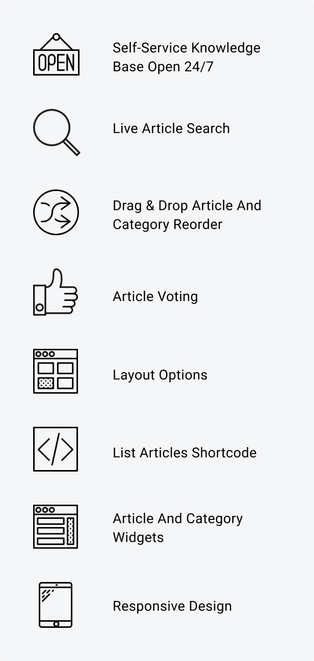 knowledge3 - Knowledge Base | Helpdesk | Support | Wiki WordPress Plugin