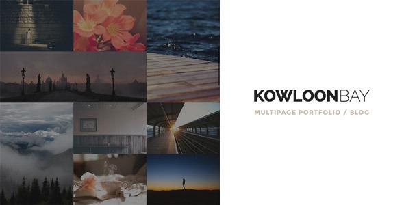 kowloonbay - KowloonBay - Multipage Portfolio / Blog WP Theme