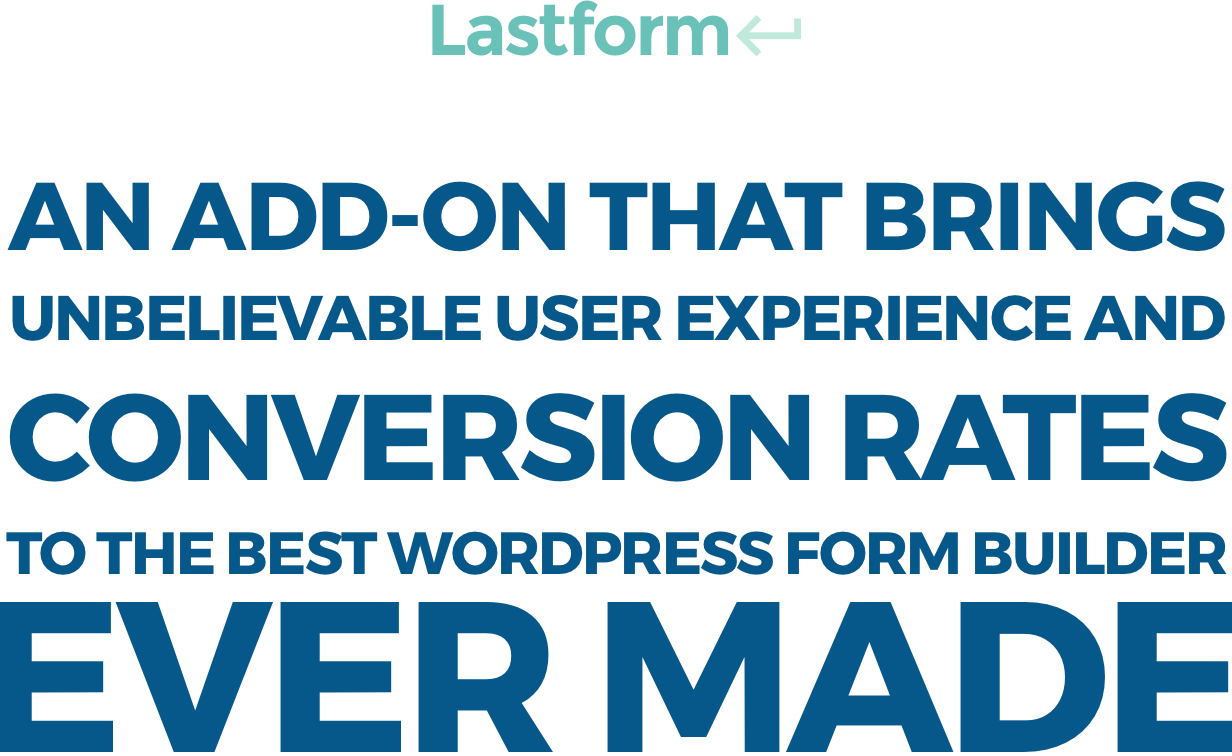 lastform2 - Lastform - Affordable Typeform alternative for WordPress