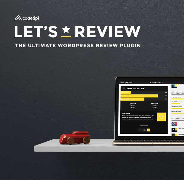 lets2 - Let's Review WordPress Plugin With Affiliate Options