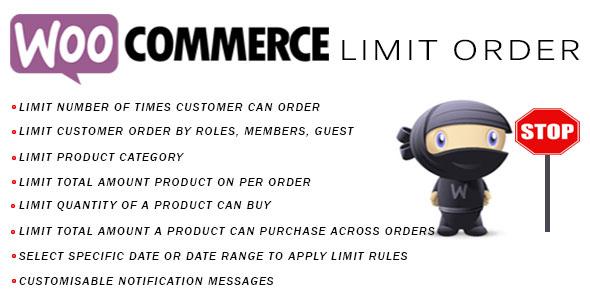 limit - Woocommerce Limit Order