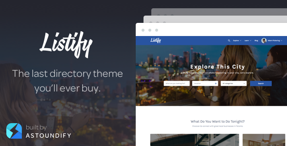 listify - Listify - WordPress Directory Theme
