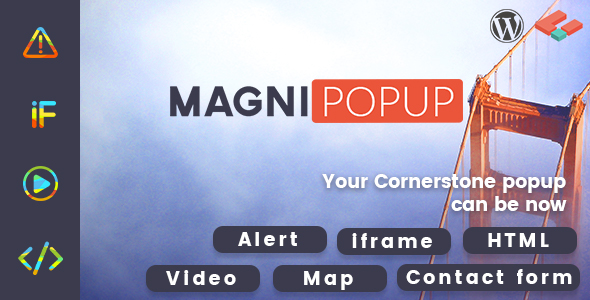 magnipopup - MagniPopup - Modal/Popup for Cornerstone