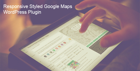 maps - Responsive Styled Google Maps - WordPress Plugin