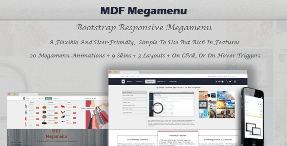 mdf - MDF Megamenu - Bootstrap Responsive WordPress Megamenu