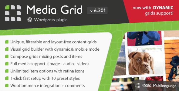 media 1 - Media Grid - Wordpress Responsive Portfolio