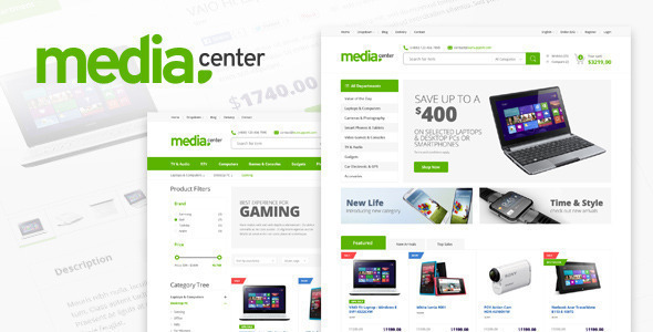 mediacenter - MediaCenter - Electronics Store WooCommerce Theme