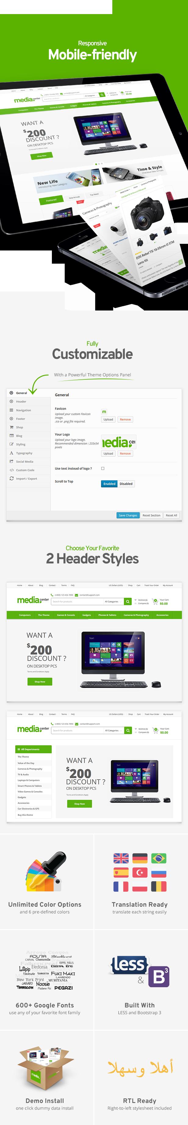 mediacenter6 - MediaCenter - Electronics Store WooCommerce Theme